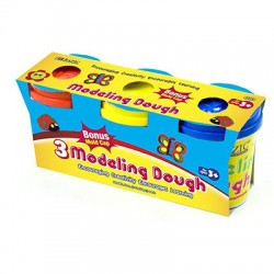 5 oz. Multi Color Modeling Dough, 3 pk