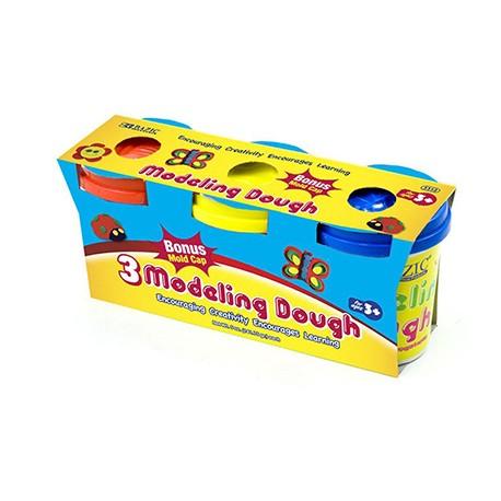 5 oz. Multi Color Modeling Dough, 3 pk
