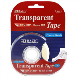 "3/4"" x 1296"" Transparent Tape with Dispenser"