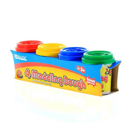 2 oz. Multi Color Modeling Dough, 4 pk