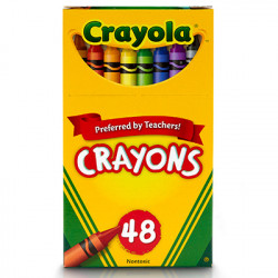 Crayola Regular Size Crayons 48 ct