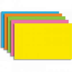 Index Cards Brite Colors, 100 Ct.