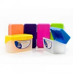 "Index Card Box, 3"" x 5"" Bright Colors"