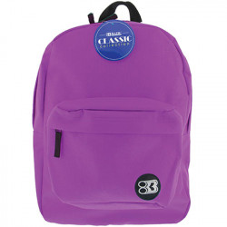 "17"" Purple Backpack"