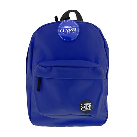 "17"" Blue Backpack"