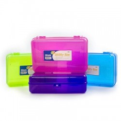 Pencil Box, Bright Colors