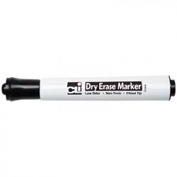 Black Chisel Tip Dry Erase Marker