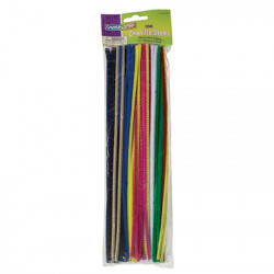 Assorted 4mm Chenille Stems