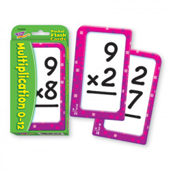 Multiplication Pocket Flash Cards